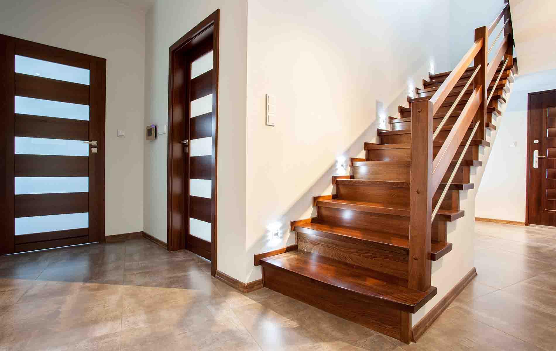 Escaleras de madera a medida santiago de compostela