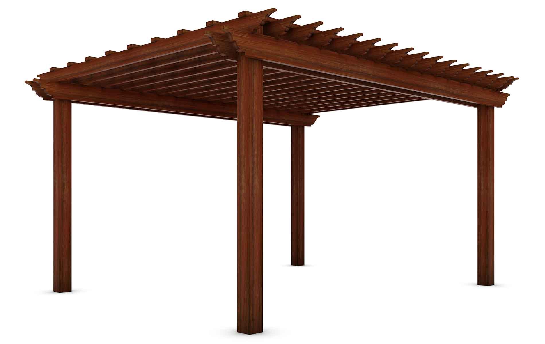 Pergolas de madera a medida Santiago de compostela